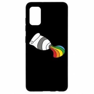 Etui na Samsung A41 Rainbow colors