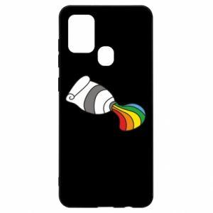 Etui na Samsung A21s Rainbow colors