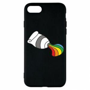 Etui na iPhone SE 2020 Rainbow colors