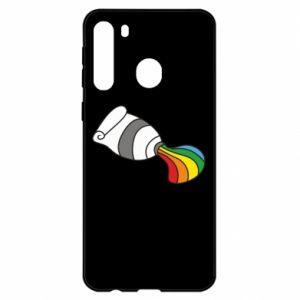 Etui na Samsung A21 Rainbow colors