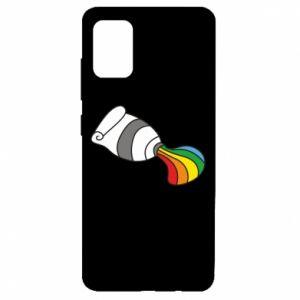 Etui na Samsung A51 Rainbow colors