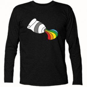 Koszulka z długim rękawem Rainbow colors