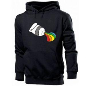 Męska bluza z kapturem Rainbow colors