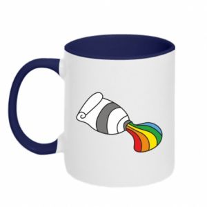Kubek dwukolorowy Rainbow colors