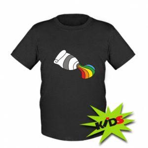 Dziecięcy T-shirt Rainbow colors