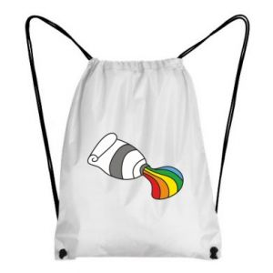 Backpack-bag Rainbow colors
