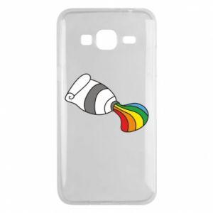 Etui na Samsung J3 2016 Rainbow colors