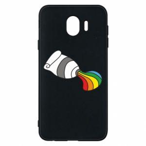 Etui na Samsung J4 Rainbow colors