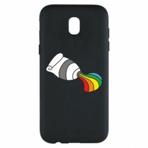 Etui na Samsung J5 2017 Rainbow colors