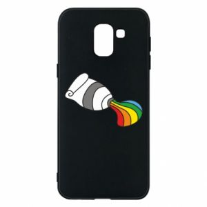 Etui na Samsung J6 Rainbow colors