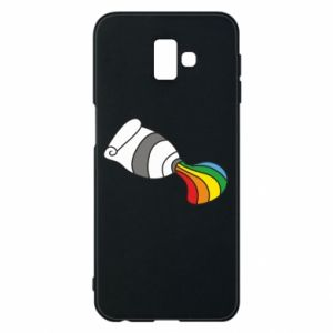 Etui na Samsung J6 Plus 2018 Rainbow colors