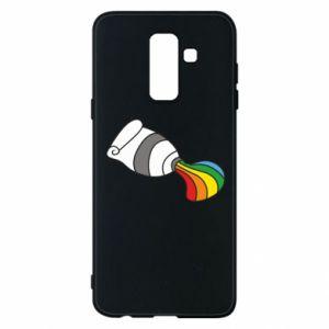 Etui na Samsung A6+ 2018 Rainbow colors