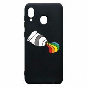 Etui na Samsung A20 Rainbow colors
