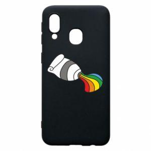 Etui na Samsung A40 Rainbow colors