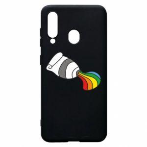Etui na Samsung A60 Rainbow colors