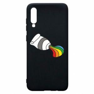 Etui na Samsung A70 Rainbow colors
