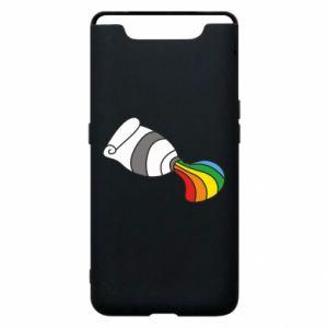 Etui na Samsung A80 Rainbow colors