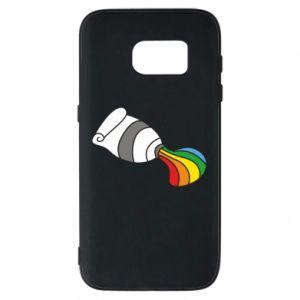 Etui na Samsung S7 Rainbow colors