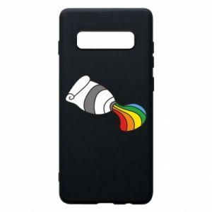 Etui na Samsung S10+ Rainbow colors