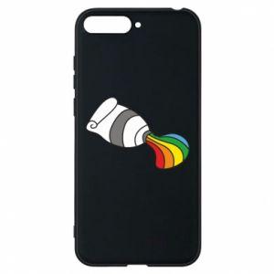 Etui na Huawei Y6 2018 Rainbow colors