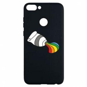Etui na Huawei P Smart Rainbow colors