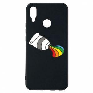 Etui na Huawei P Smart Plus Rainbow colors