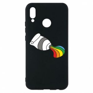 Etui na Huawei P20 Lite Rainbow colors