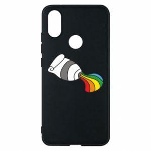 Etui na Xiaomi Mi A2 Rainbow colors