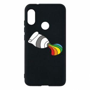 Etui na Mi A2 Lite Rainbow colors