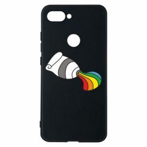 Etui na Xiaomi Mi8 Lite Rainbow colors