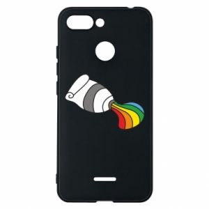 Etui na Xiaomi Redmi 6 Rainbow colors