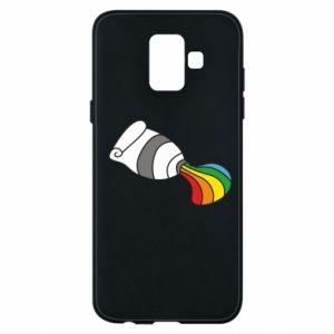 Etui na Samsung A6 2018 Rainbow colors