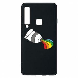 Etui na Samsung A9 2018 Rainbow colors