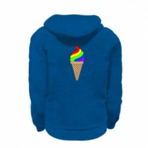 Bluza na zamek dziecięca Rainbow Ice Cream
