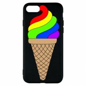 Etui na iPhone SE 2020 Rainbow Ice Cream
