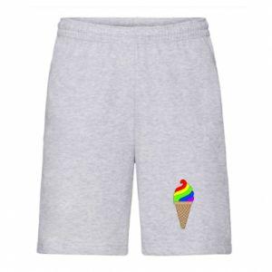 Męskie szorty Rainbow Ice Cream
