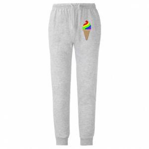 Spodnie lekkie męskie Rainbow Ice Cream
