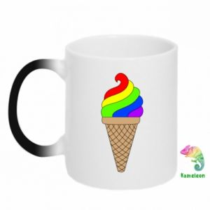 Kubek-kameleon Rainbow Ice Cream