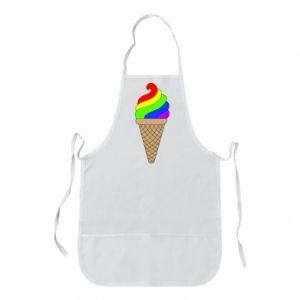 Fartuch Rainbow Ice Cream