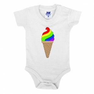 Body dziecięce Rainbow Ice Cream
