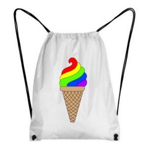 Backpack-bag Rainbow Ice Cream