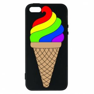 Etui na iPhone 5/5S/SE Rainbow Ice Cream