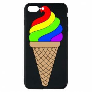 Etui na iPhone 8 Plus Rainbow Ice Cream