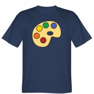 Koszulka męska Rainbow palette