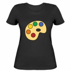 Koszulka damska Rainbow palette