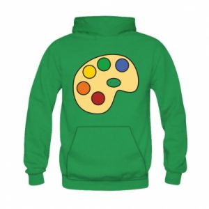 Bluza z kapturem dziecięca Rainbow palette