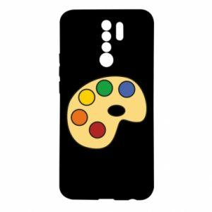 Etui na Xiaomi Redmi 9 Rainbow palette