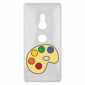 Etui na Sony Xperia XZ2 Rainbow palette