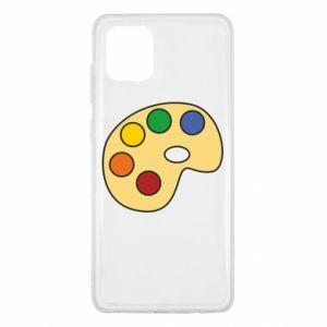 Etui na Samsung Note 10 Lite Rainbow palette
