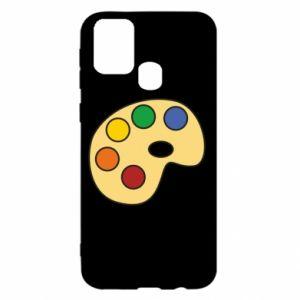 Etui na Samsung M31 Rainbow palette